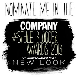 Please Nominate me for Best Personal Style Blog..
