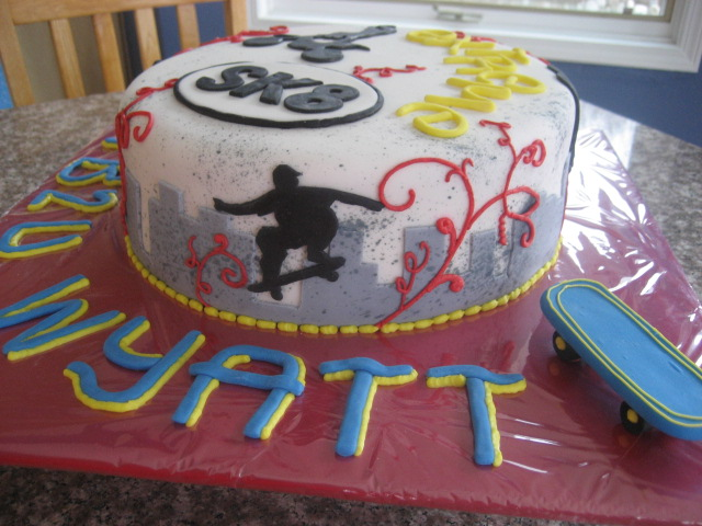 Beni Cakes Extreme Sports Birthday Cake