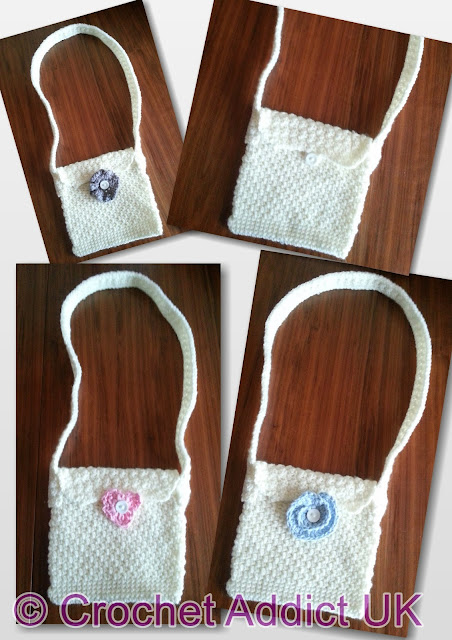 Free Dress It Up Quick & Easy Shoulder Bag Crochet Pattern ~ Crochet ...