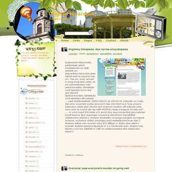 Original Nicaragua Blogger Template. free download template blogspot