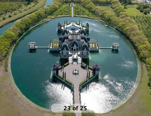 eye on miami looking for a house with a moat no problem