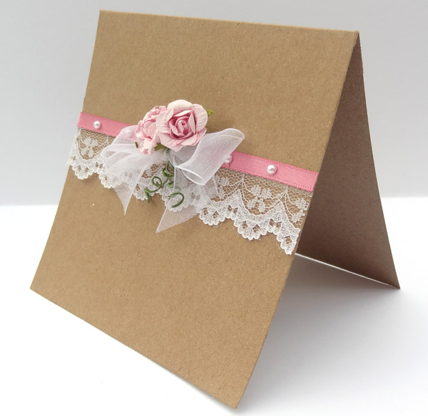 Wedding coordinator has come up with this lovely wedding invitation