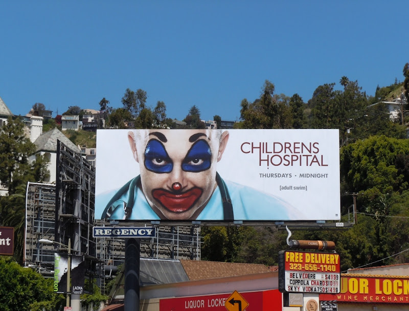 Adult Swim Childrens Hospital billboard