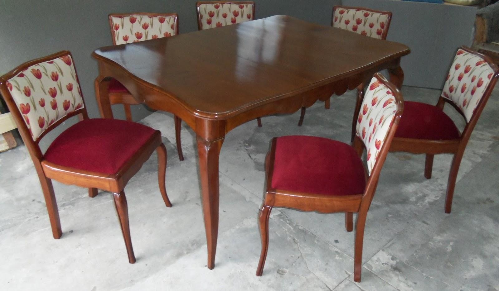 Entrar tapizados gyg restauracion de comedor provenzal - Sillon estilo provenzal ...