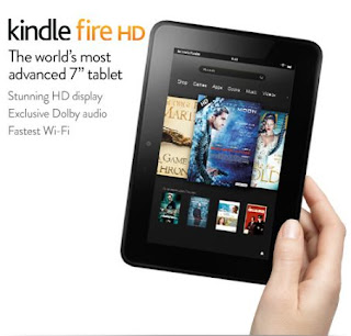 Kindle Fire HD Tablet from Amazon