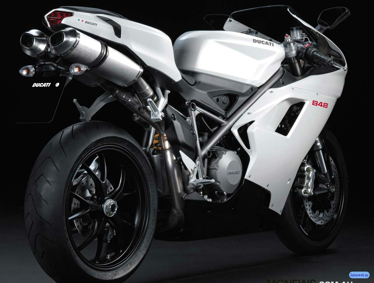 New Free Motorcycles Ducati 848 Heavy Bike Wallpapers