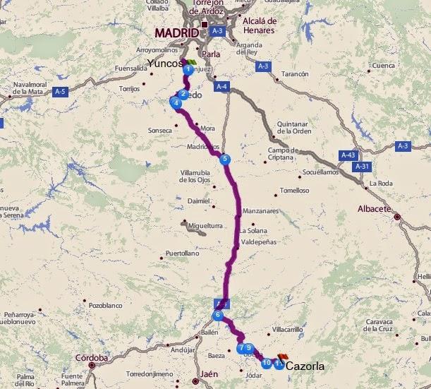 Rutasenmotogbr ruta por andalucia - Ruta por andalucia ...