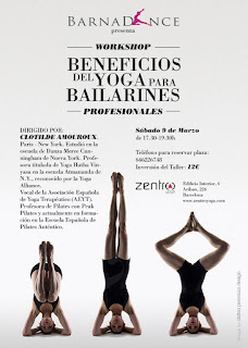 Taller de yoga para bailarines