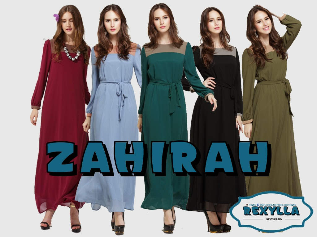 rexylla, maxi dress, zahirah collection