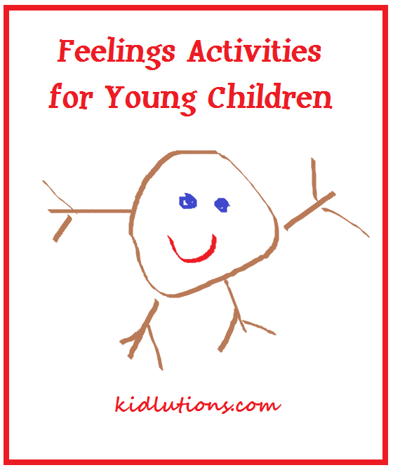 Feelings activities for young children for Emotion art projects
