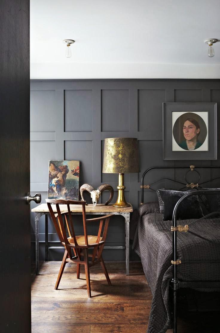 La fabrique à déco: peindre la chambre en noir ou en gris ...
