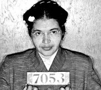 Rosa Parks Montgomery Bus Boycott Booking Photo