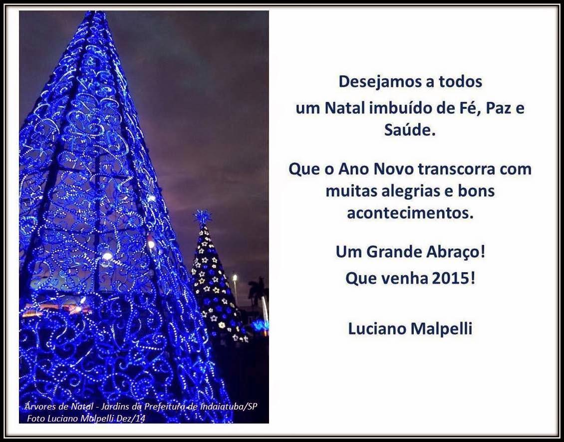 Cartão Natal 2014 Luciano Malpelli