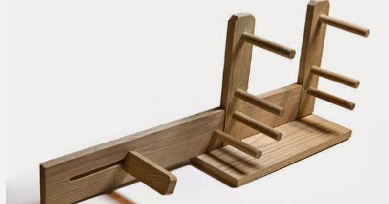 Giosennifer istruzioni su come costruire un telaio per strisce inkle loom fai da te - Telaio da tavolo per tessitura a mano ...