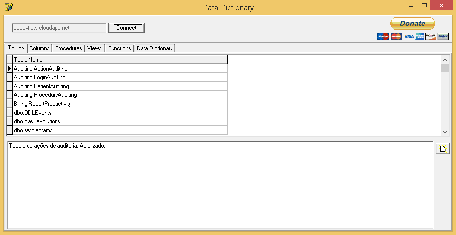 Download Free Data Dictionary