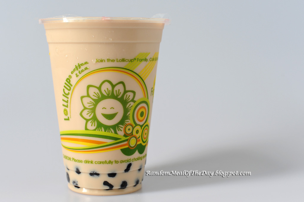 ... Meal Of The Day: Boba Milk Tea for National Tapioca Day at Lollicup