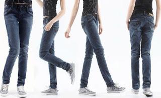 celana jean stright