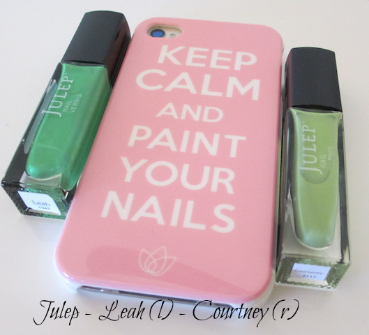 Julep Iphone case keep calm and paint your nails