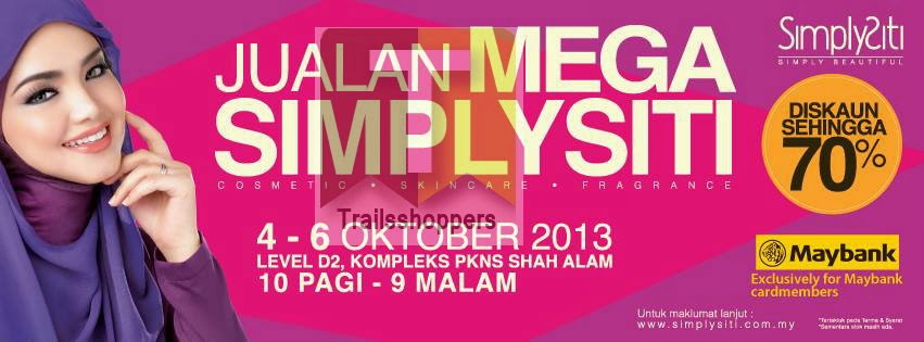 SimplySiti Mega Sale 2013