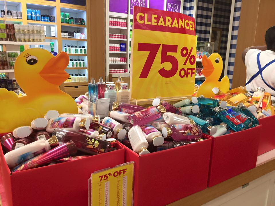 Bath and body works sale dates in Perth
