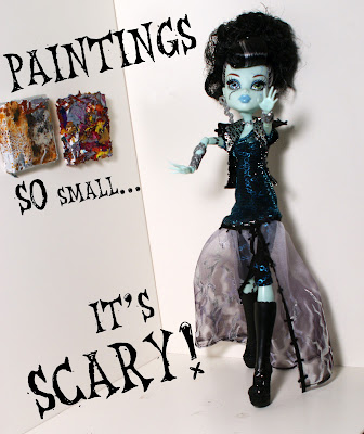 paintings so small it's scary!