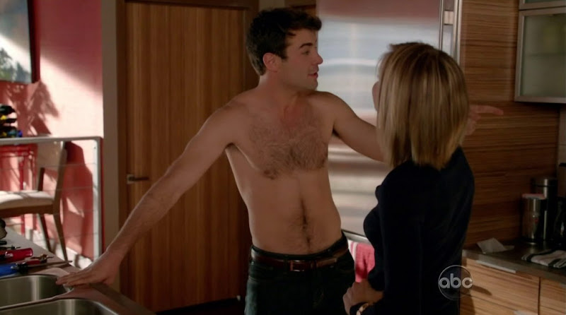 James Wolk Shirtless in Happy Endings s2e14