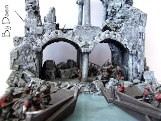 Władca Pierścieni atak na Osgiliath