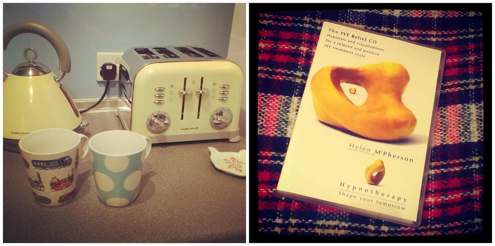 Hot drinks before bed - IVF Belief CD
