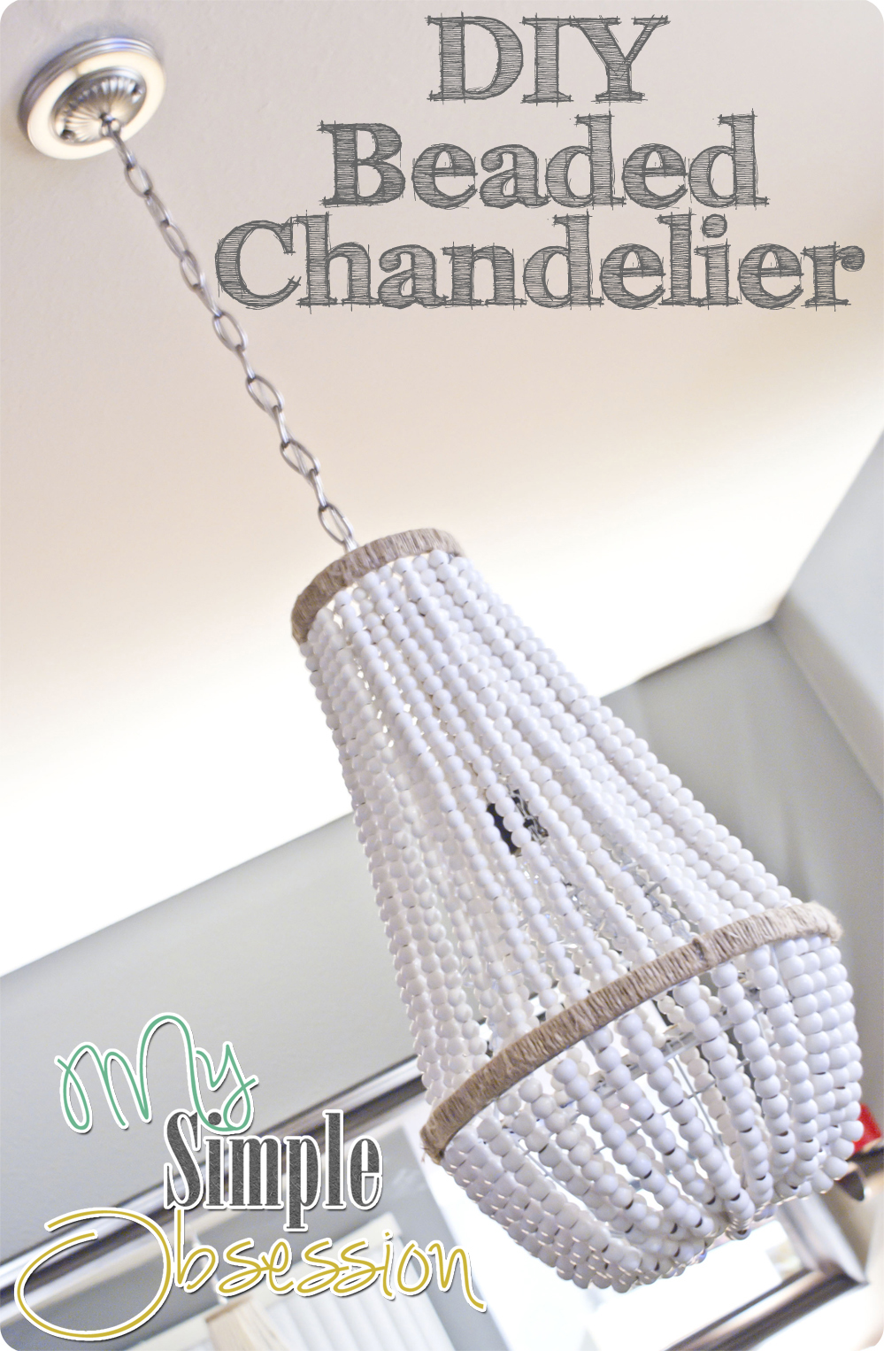 Beaded Chandelier Tutorial