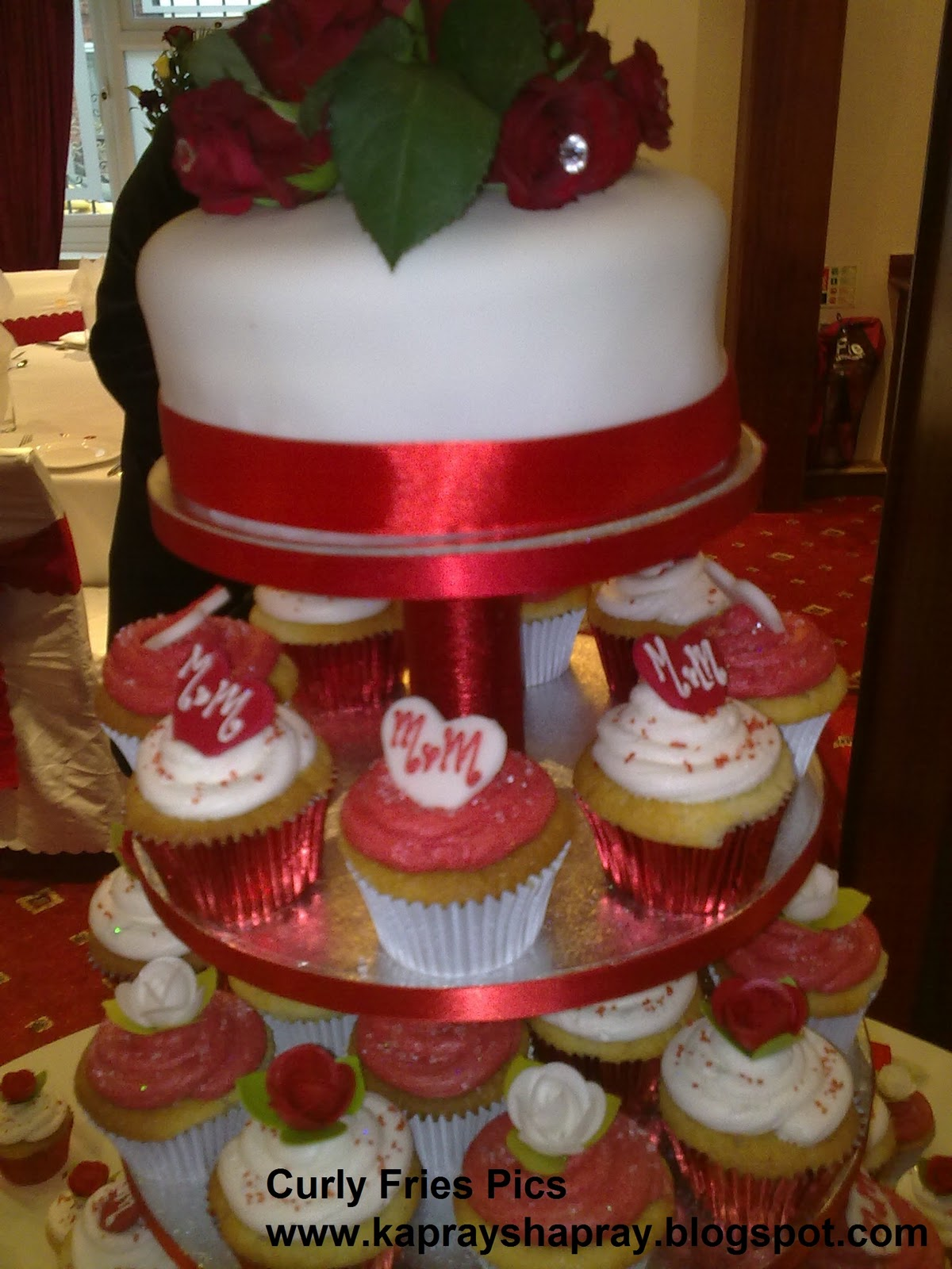 Fayeza ansari wedding cakes