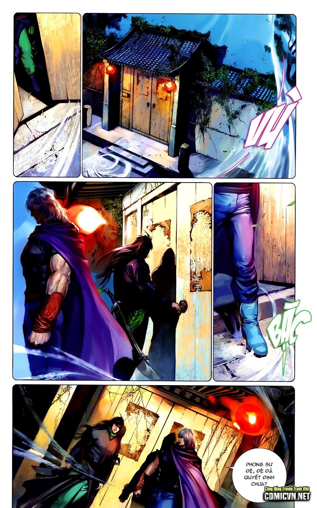 Phong Vân Chap 663 - Trang 6