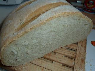 Pão caseiro na Bimby
