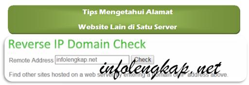 Cara Melihat Alamat Website Lain di Satu Server Hosting