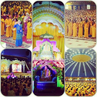 Thousands respect Kripalu Maharaj on Guru Poornima 2015
