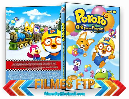 Pororo O Pequeno Pinguim Vol.10 2014 DVD-R