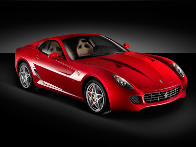 Ferrari 599 HD Wallpaper for iPhone5