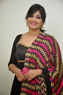 Playback Singer Divya Pictures in Black Salwar Kameez at Aagadu Audio Launch ~ Celebs Next