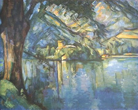 celia clara fischer poemas lago de annecy paul cezanne 1896. Black Bedroom Furniture Sets. Home Design Ideas