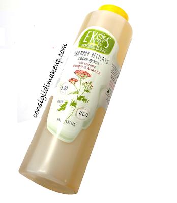 Review: Shampoo Delicato capelli grassi con estratto di Achillea - Ekos