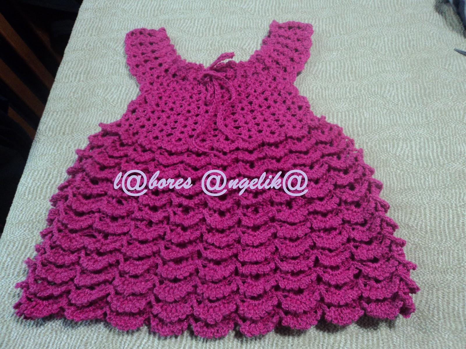 Vestidos De Crochet Para Nina