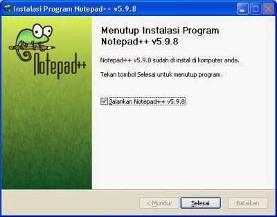 Notepad++ 6.5.4 Rilis Terbaru