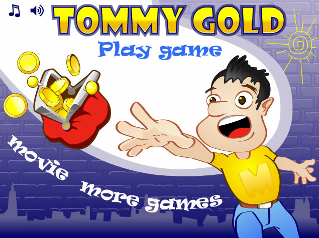 Unblocked Game : Tommy Gold