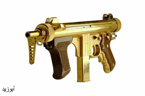 Vince Real's Site: Saddam Hussein's Guns Made of Gold  Real Golden Guns