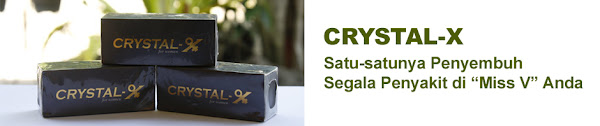 crystal x murah