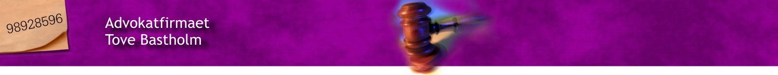 Advokatfirmaet Tove Bastholm