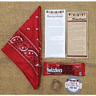 Pioneer Party: July Home and Visiting Teaching Gifts