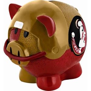 Florida State Seminoles NCAA Piggy Bank