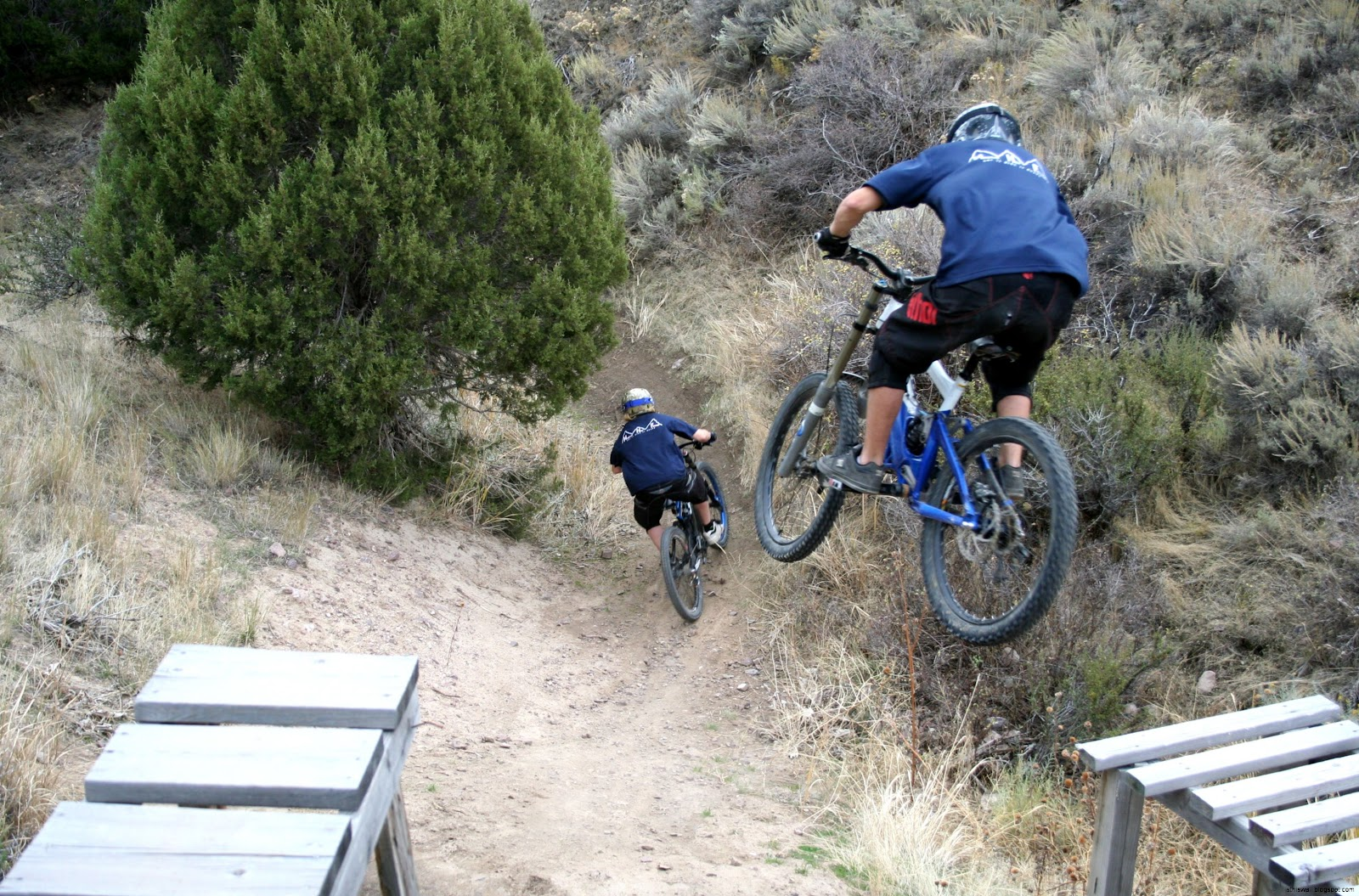 Downhill Freeride Mountain Bike