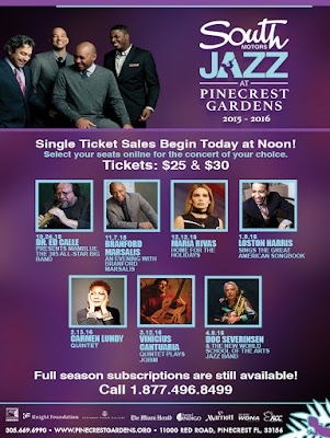 South Motors Jazz At Pinecrest Gardens 2015 2016 Season
