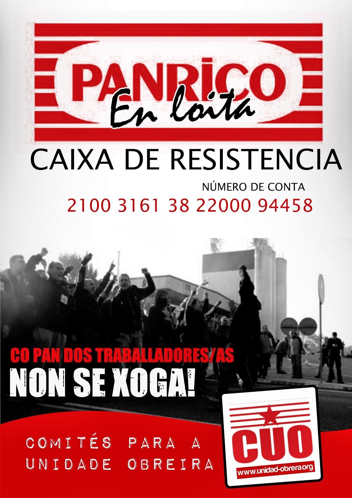 CO PAN DAS FAMILIAS TRABALLADORAS NON SE XOGA!!